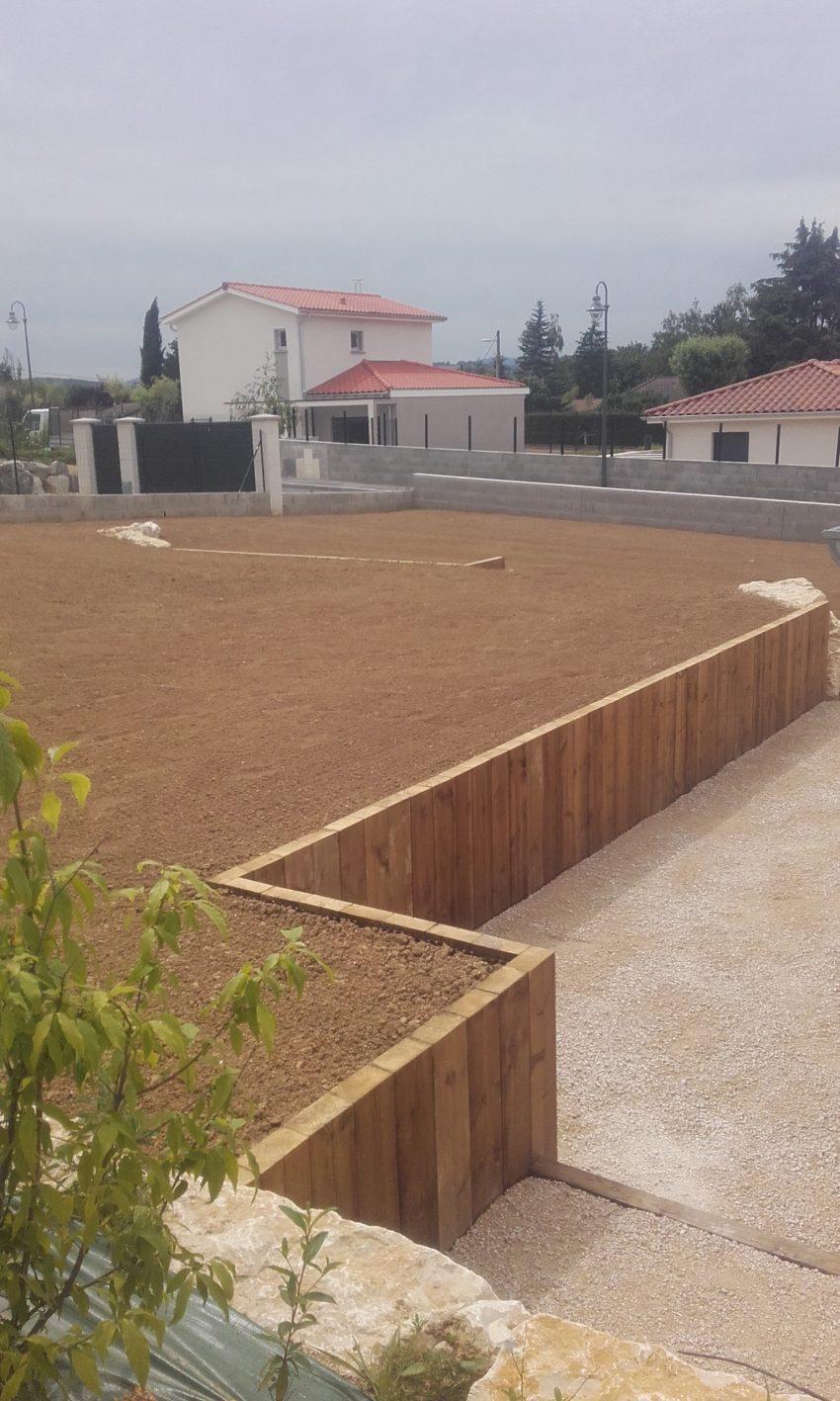 preparation pelouse