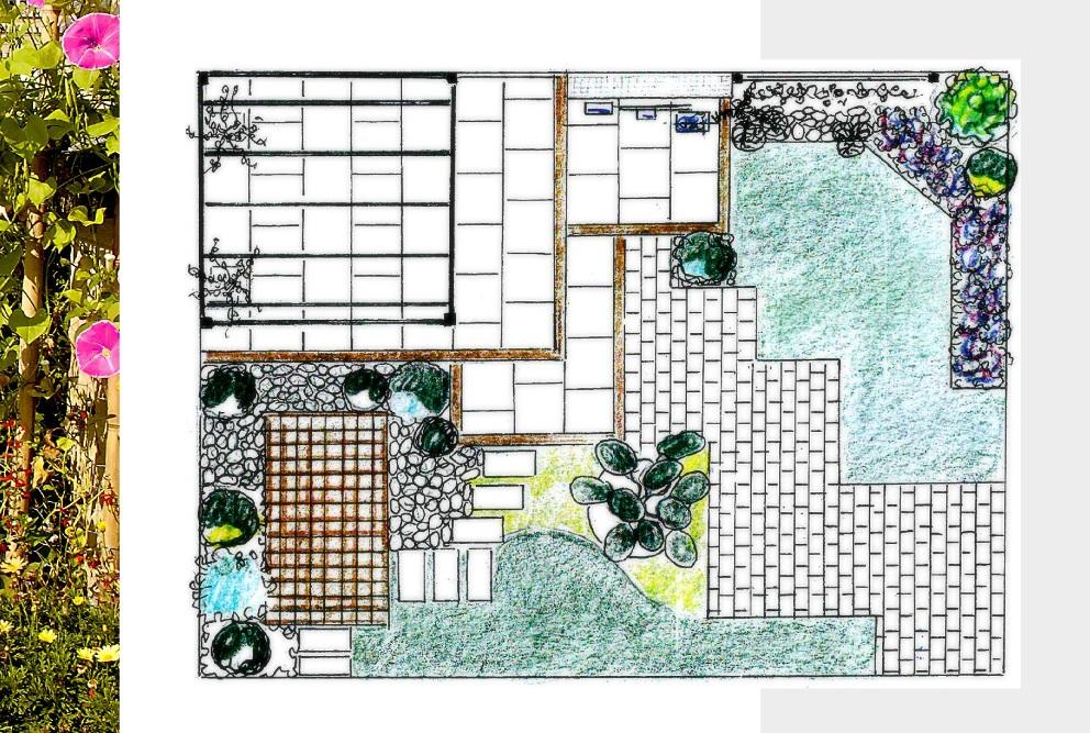 Jardin éphémère Salon Scènes de Jardin