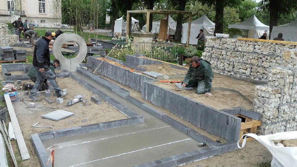 scènes de Jardin préparation